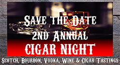 2nd Annual Cigar Night